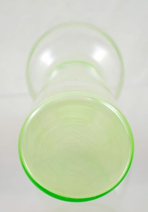 Bulb vase Leerdam ag. b1
