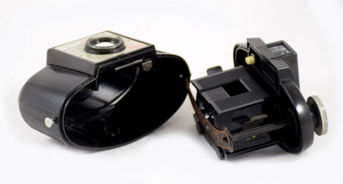 Bakelite Kodak Brownie 127 Dakon Lens c. e 17