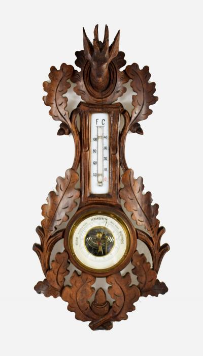 Antique Dutch  barometer m. ko 5