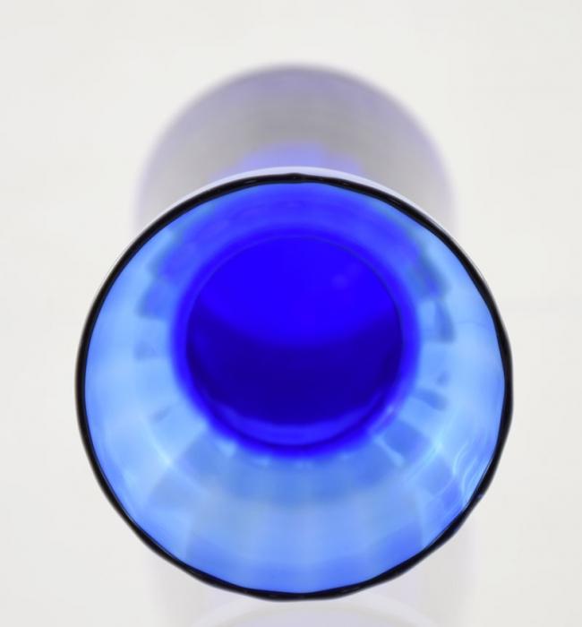 Blauwe bollenvaas ag. b 13