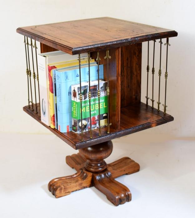 Revolving bookcase Book mill carousel