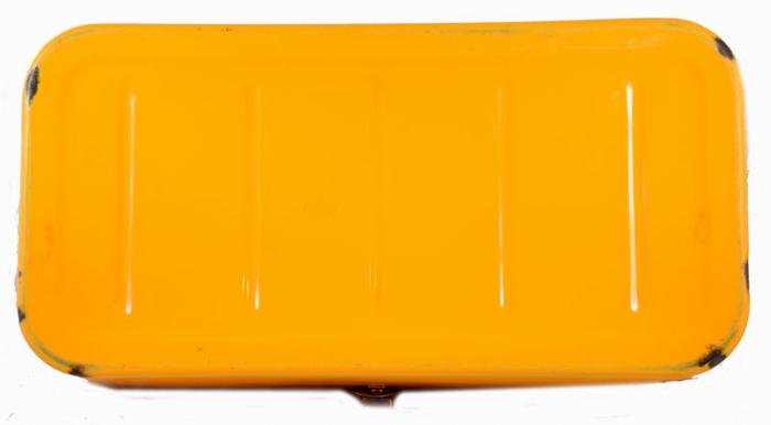 Gele broodtrommel e. ok 8