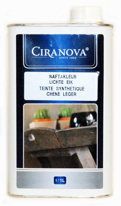 Ciranova naphtabeits licht eik 1 liter