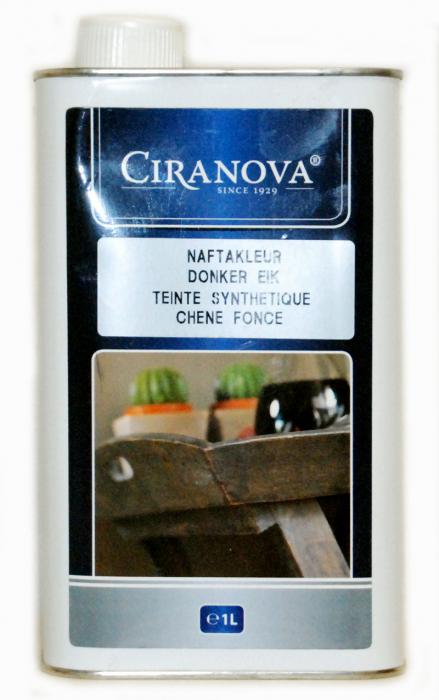 Ciranova naphtabeits donker eik 1 liter