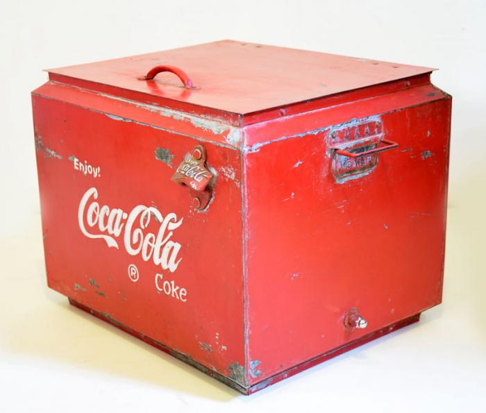 Coca Cola koelbox c. r 14