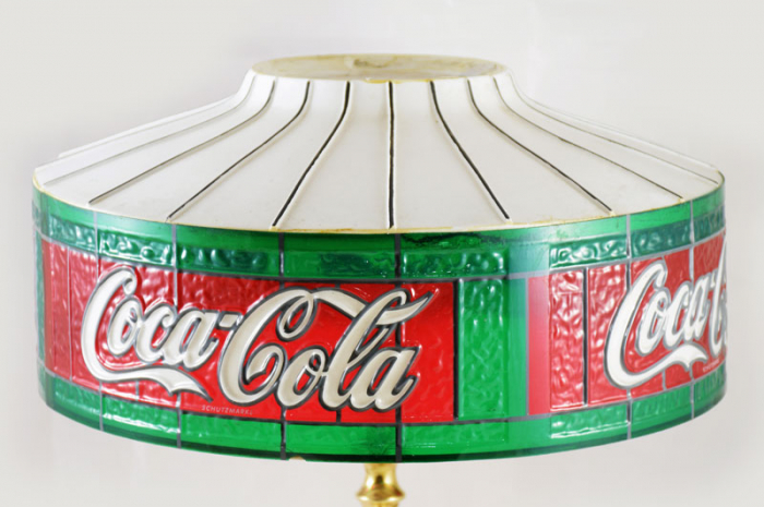 Coca Cola table lamp