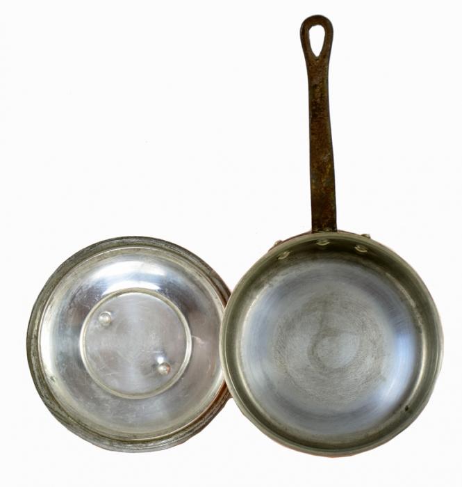 Frying pan kk. p 5 reserved