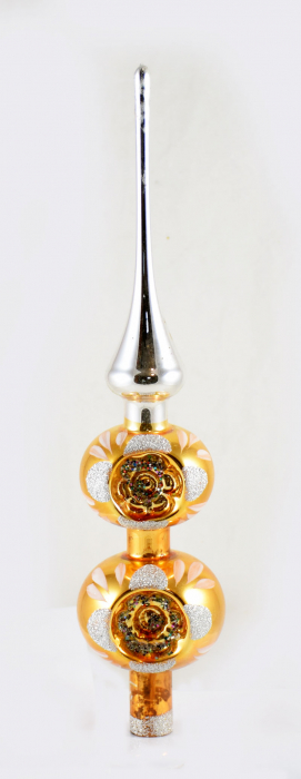 Tree topper with indent bulbs 16