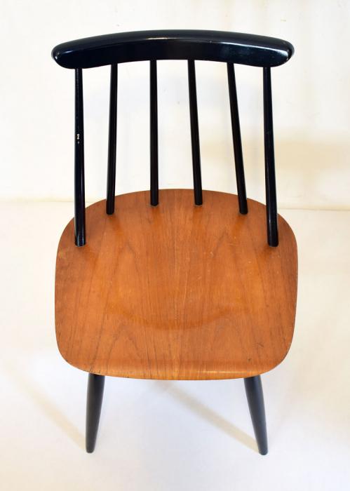 Vintage Fanett Tapiovaara stoel c. m 5