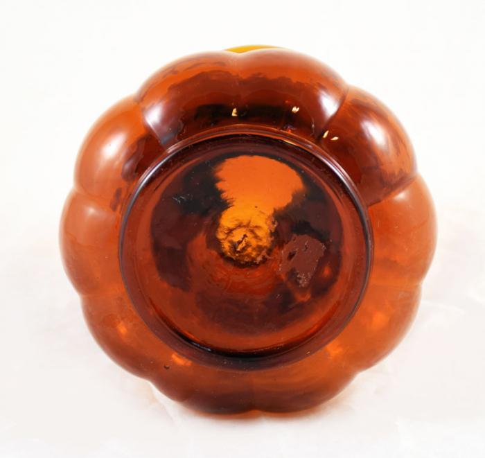 Garlic bulb vase Leerdam ag b 1