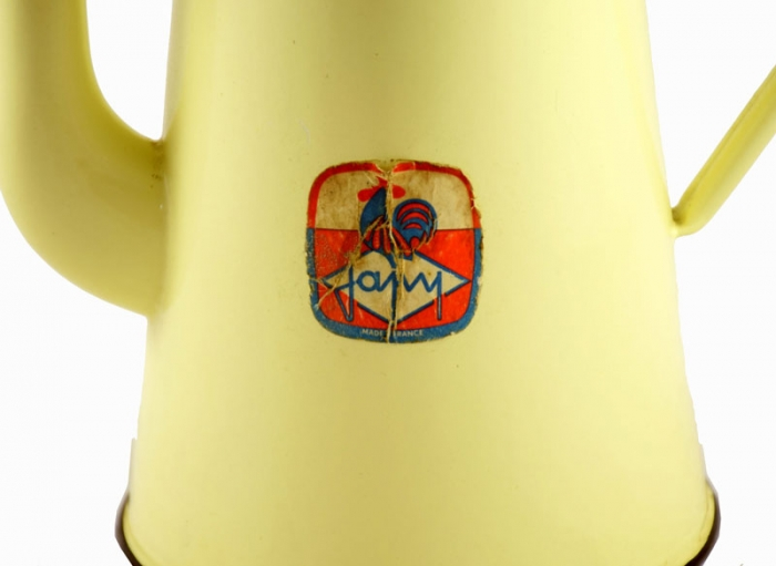 Coffee pot yellow e. ok 1