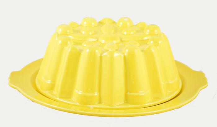 Gele puddingvorm kk. v 3