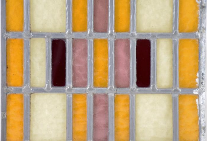 Glas in lood raam 1
