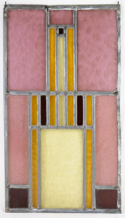 Glas in lood raam 4