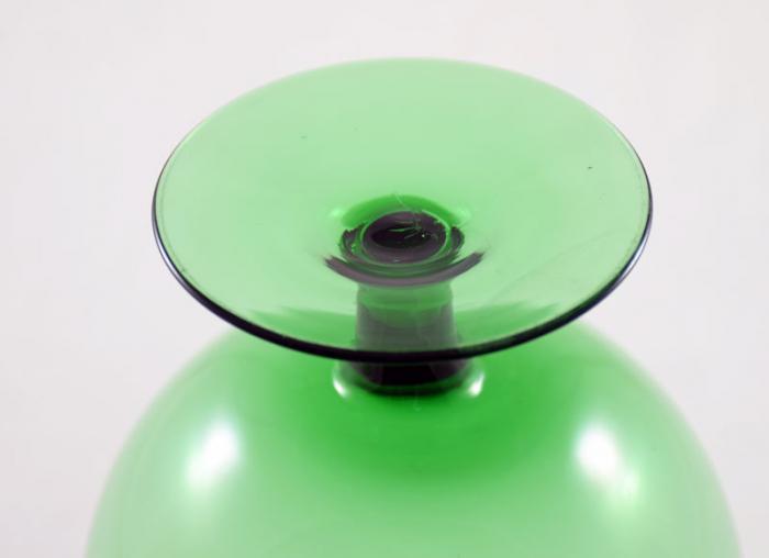 Groene vaas bokaal gk d 3