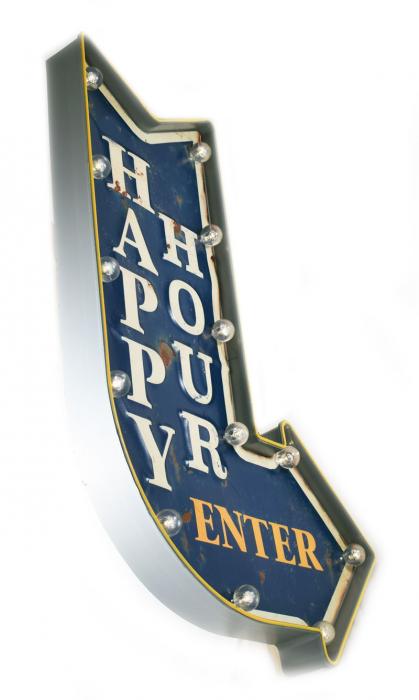 Happy Hour  lichtreclame