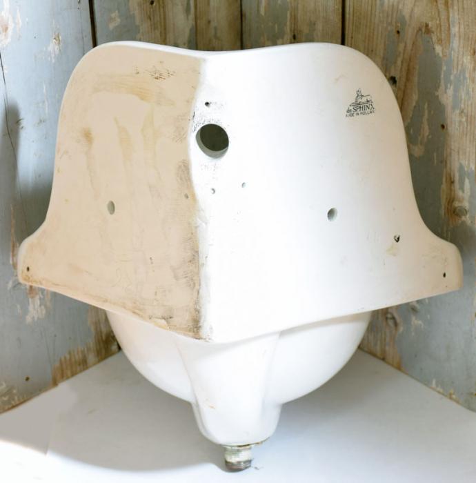 Antique lavatory sink b.b 4