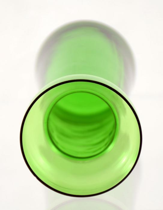 Hyacint vaas groen ag. b 12