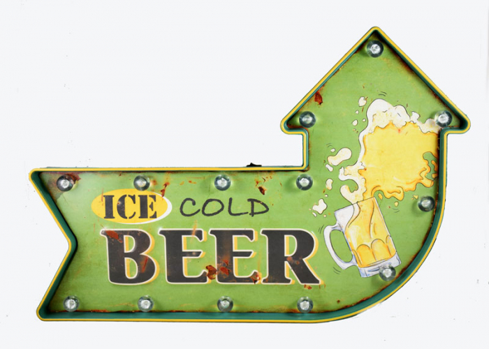 Ice Cold Beer reclame