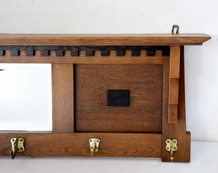 Art deco coat rack m. k 9