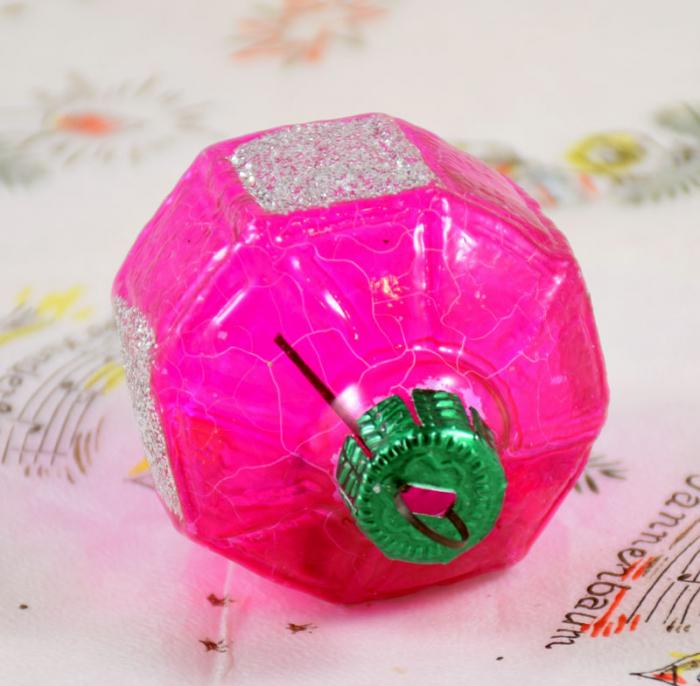 Lampion roze k. v 19