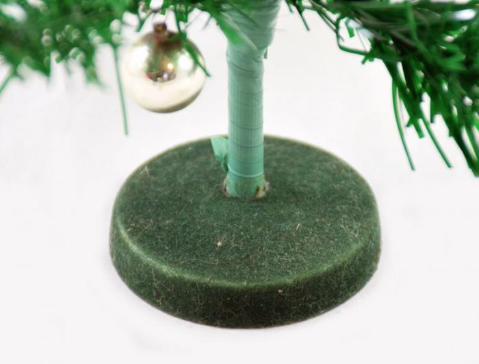 Kleine retro kerstboom k. d 6