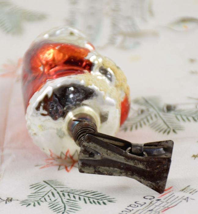 Kerstman op knijper k. f 7