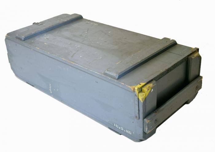 Houten munitie kist