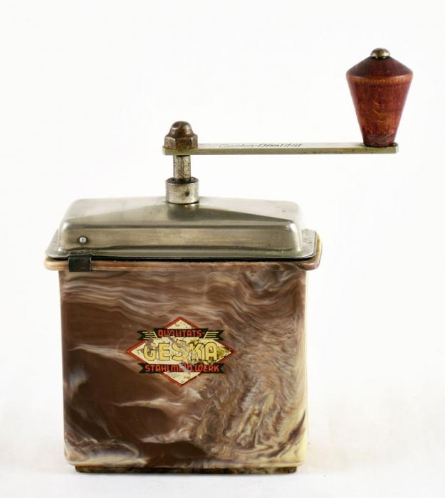 Hand crank coffee grinder Ceska nr. 8
