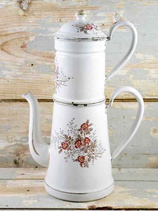 Koffiepot roosjes e. ok 5