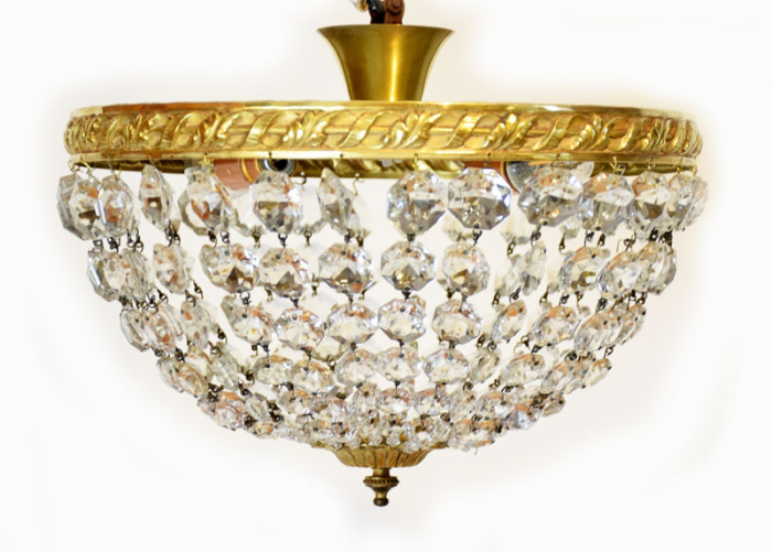Plafondlamp met pegels v. p 6