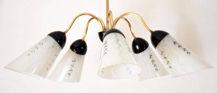 Sixties hanglamp v. k 3