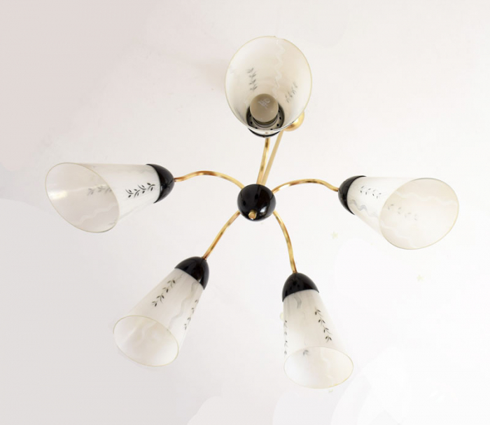 Sixties chandelier v. k 3