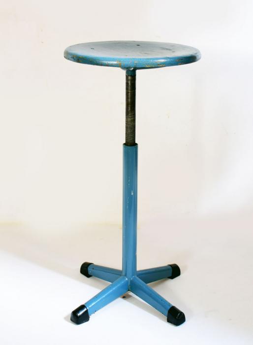 Adjustable industrial swivel stool c. m 7