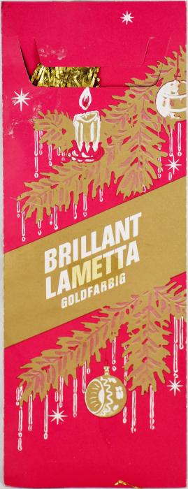 Brillant Lametta goud  k. s 9