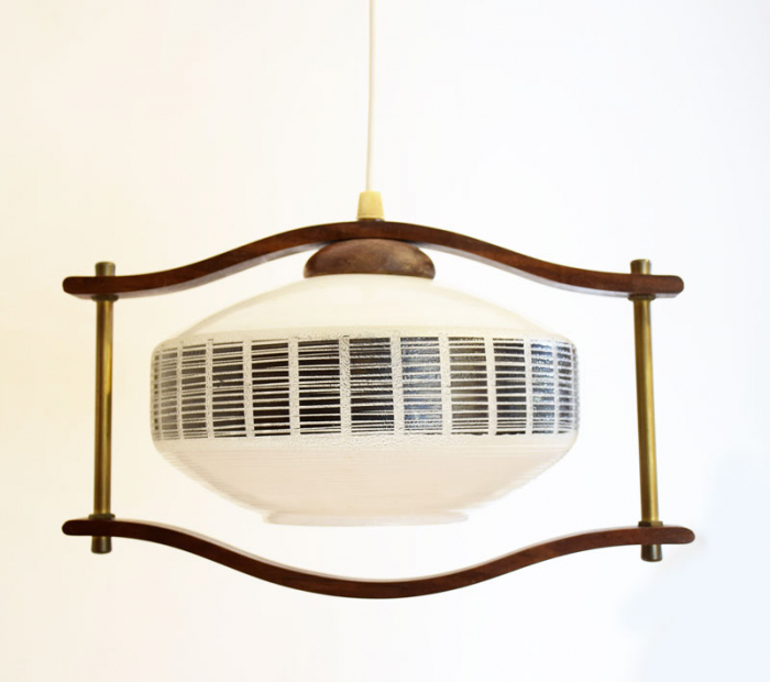 Vintage sixties lamp v. d 16