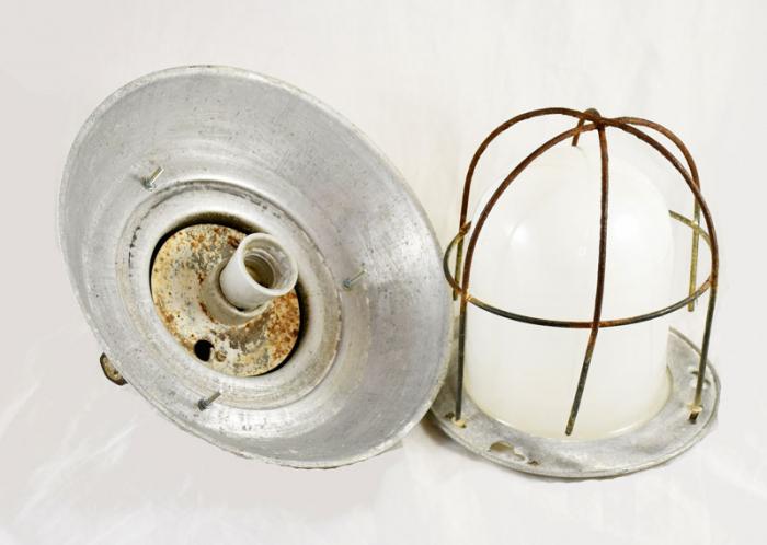 Industriële lamp v. d 14