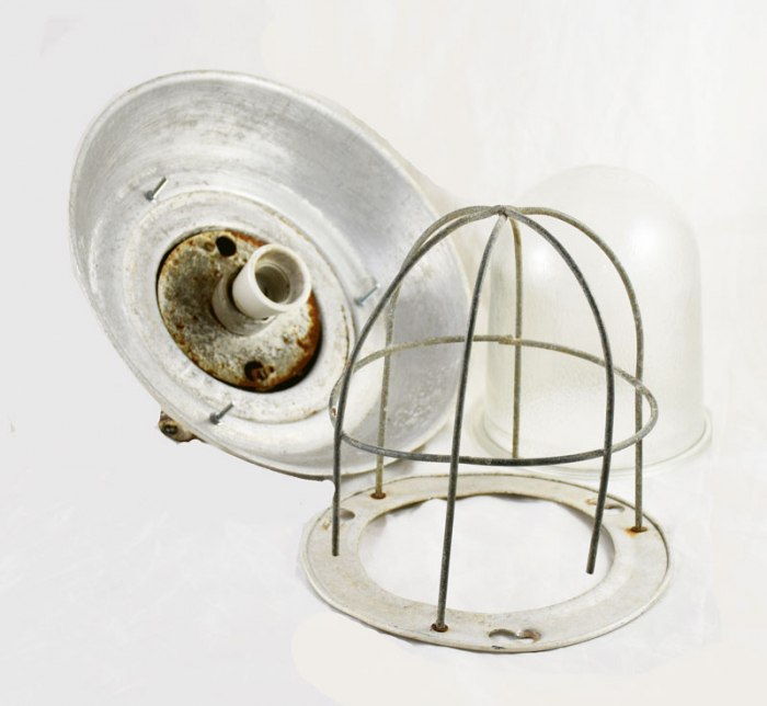 Industriële lamp v. d 16
