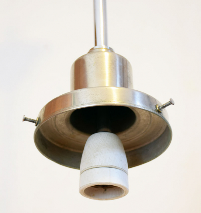 Vintage pendant light v. k 5