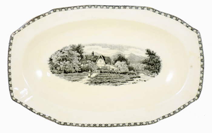 Small serving dish ag. l 7