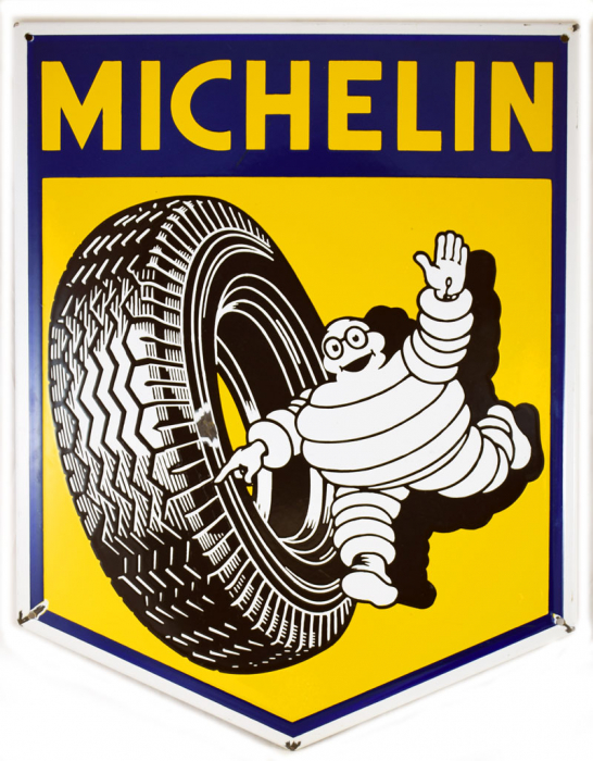 Michelin reclamebord