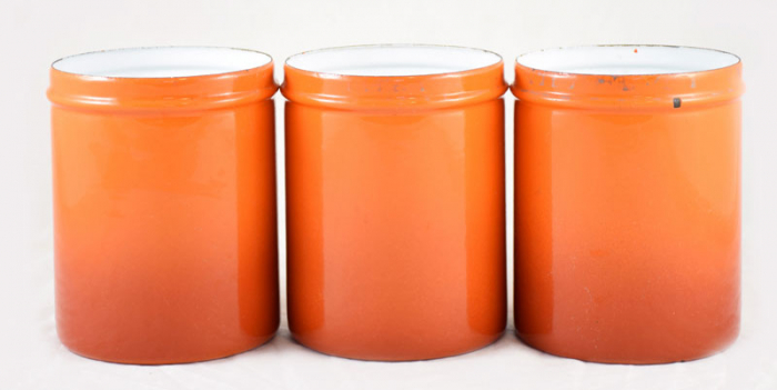 Kitchen canister set e. or 10