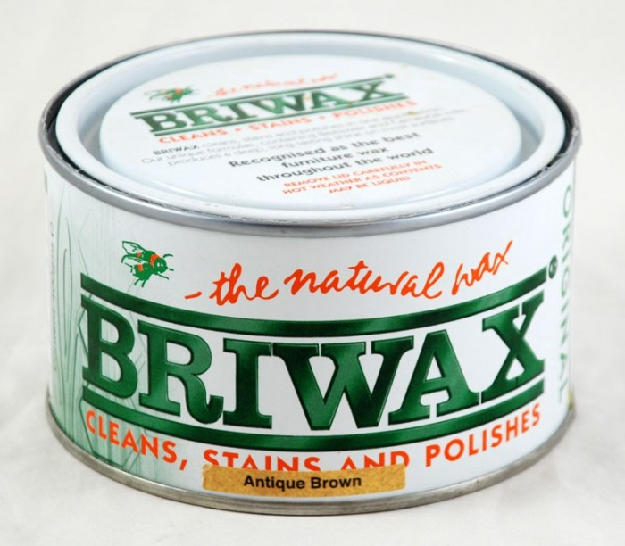 Briwax antique brown