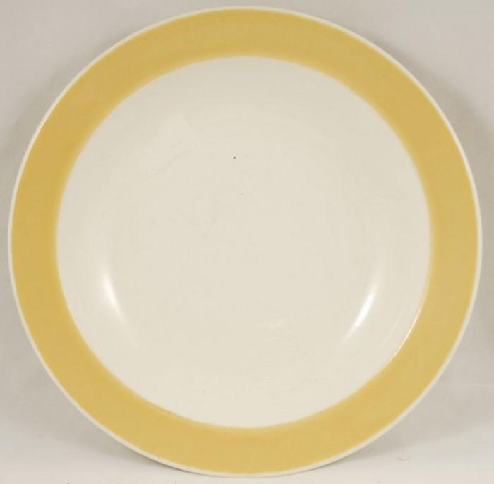 Diep bord geel am p 7