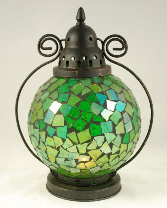 Tiffany lamp groen