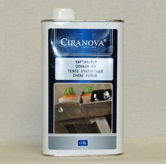 Ciranova naftabeits donker eik 5 liter