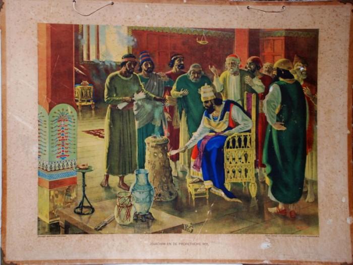 Schoolplaat Jojachim en de profetische rol nr. 12