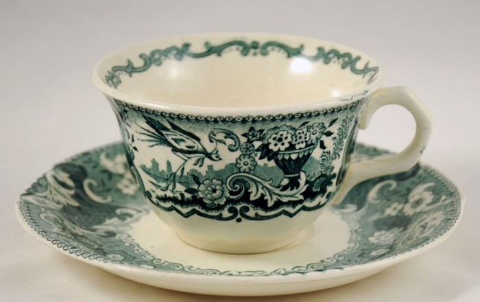 Cup and saucer am. v 6