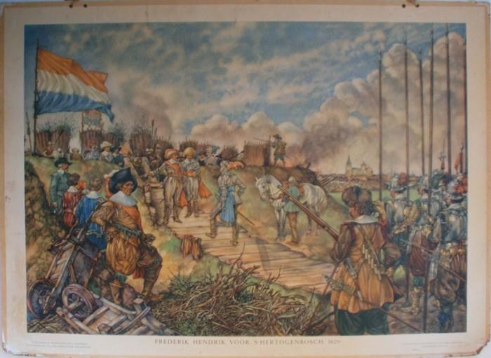 Schoolplaat Frederik Hendrik nr. 2
