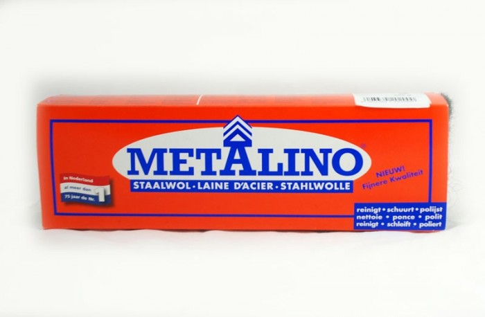 Metalino staalwol  0000 200 gram